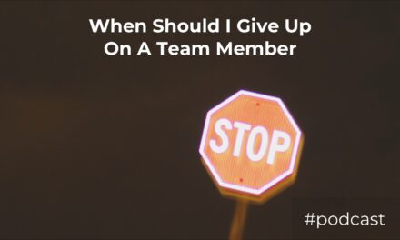 When Should I Give Up On A Worship Team Member?