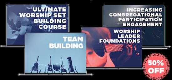 Worship Leader Course Bundle Desktop