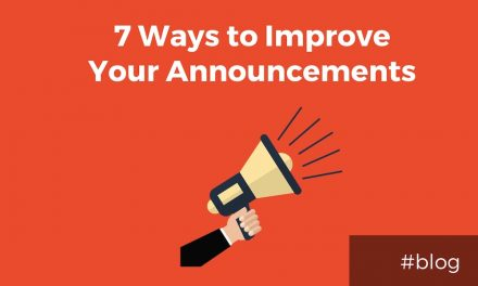 7 Practical Ways to Improve Your Church's Announcements