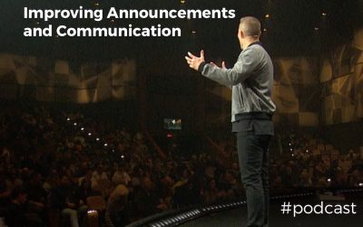 Improving Announcements and Communication For Our Church Services w/ Brady Shearer